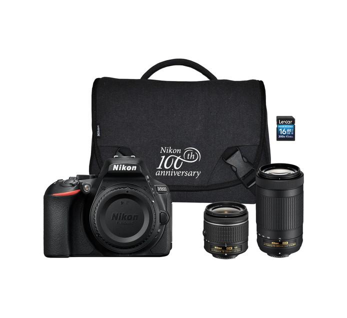 NIKON D5600 DSLR Twin Lens Camera Bundle | Single Lens