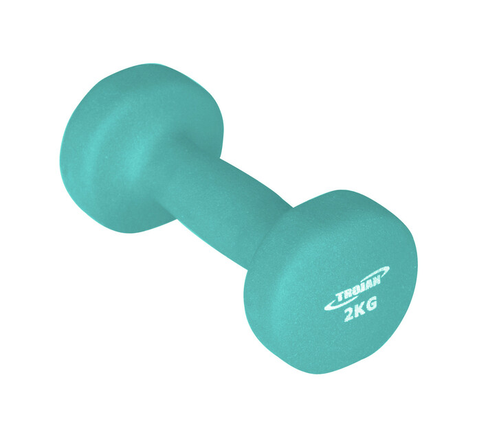 TROJAN 2 kg Soft Touch Dumbell