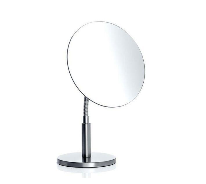 blomus Vanity Mirror Round Matt Nickel Plated VISTA