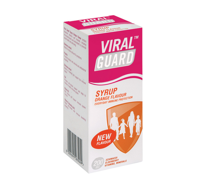 Viral Guard Guard Syrup Orange (1 x 200ml)