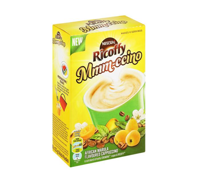 Nescafe Ricoffy Cappuccino Marula (8 x 23g)
