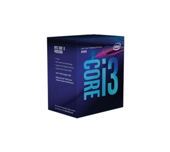 Intel Core i3 8100 / 3.6 GHz processor