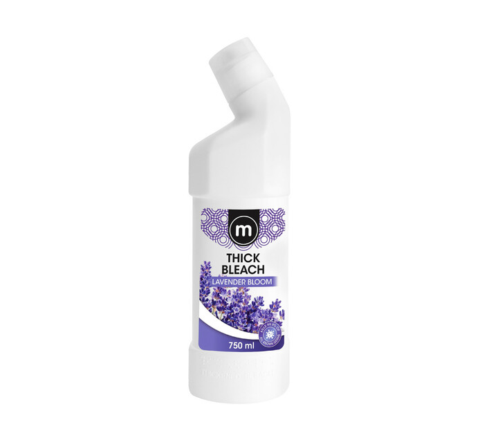 M Brand Thick Bleach Lavender Bloom (12 x 750ml)