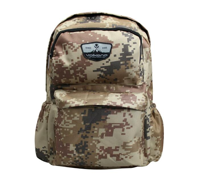 Volkano Military Series 15.6` Backpack with Laptop Compartment and Adjustable Shoulder Straps