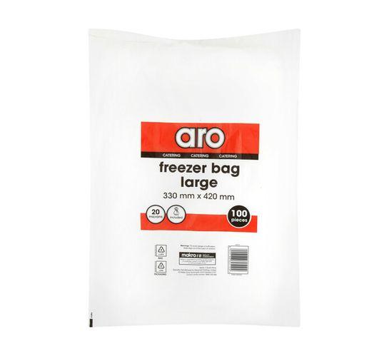 ARO Freezer Bags Large 330x420 (1 x 100's)