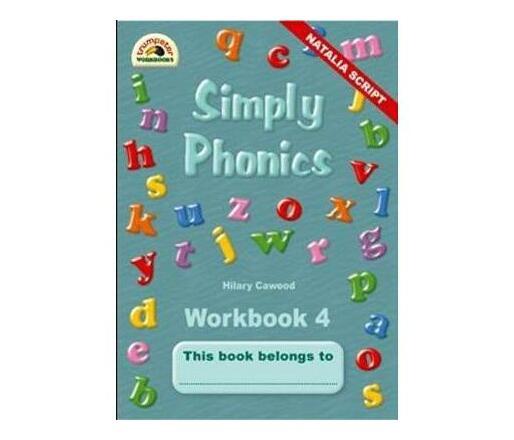 Simply Phonics : Workbook 4 : Grade 2