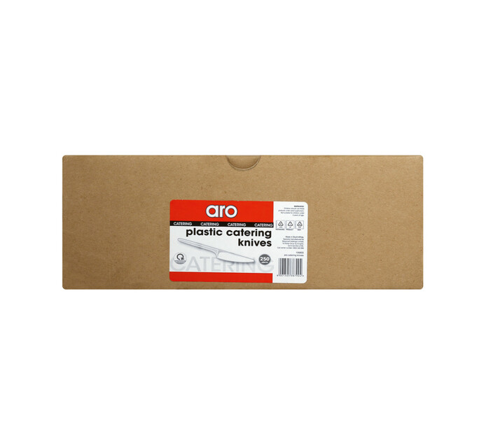 ARO Knives Plastic White (1 x 250's)