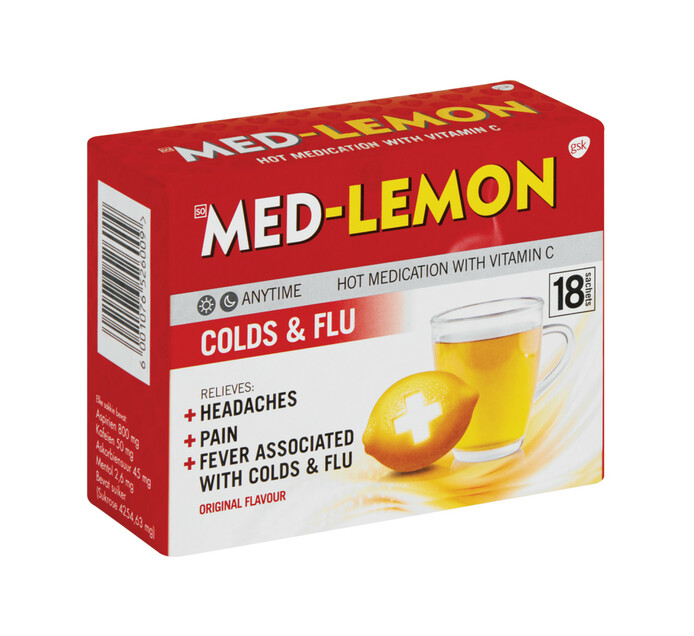 Med Lemon Sachets Original (1 x 18's)