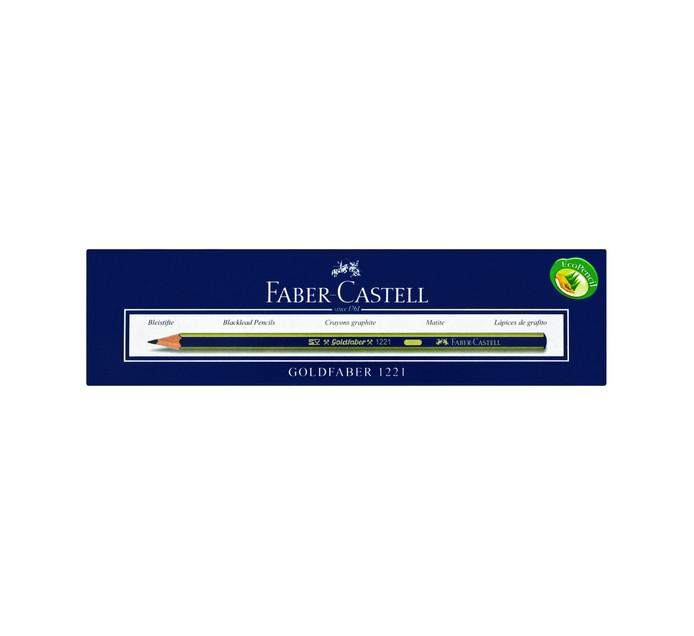 Faber Castell H Pencils Goldfaber Graphite 12 Pack