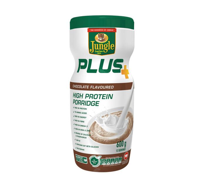 Jungle Plus High Protein Porridge Chocolate (1 x 600g)