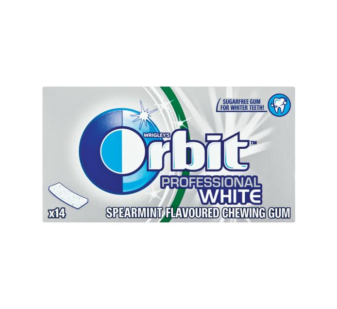 ORBIT S/F PROF GUM 14PC, WHITE