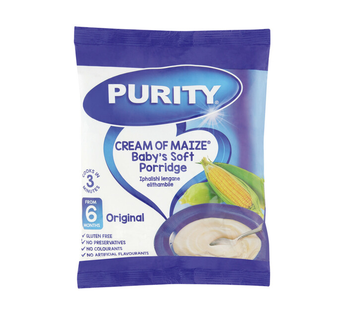 Purity Cream of Maize Infant Cereal Original (1 x 400g)