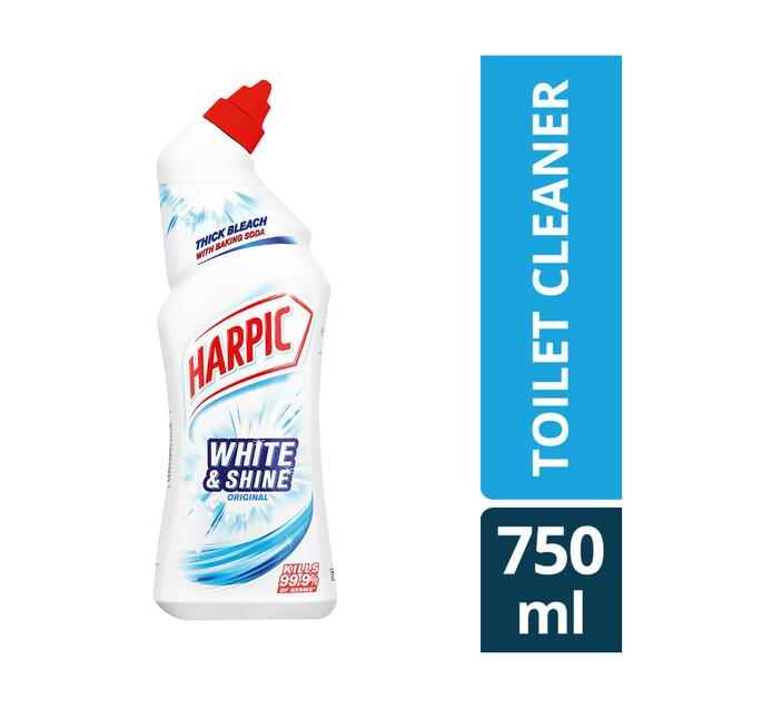Harpic White And Shine Toilet Cleaner Original (1 x 750ml)