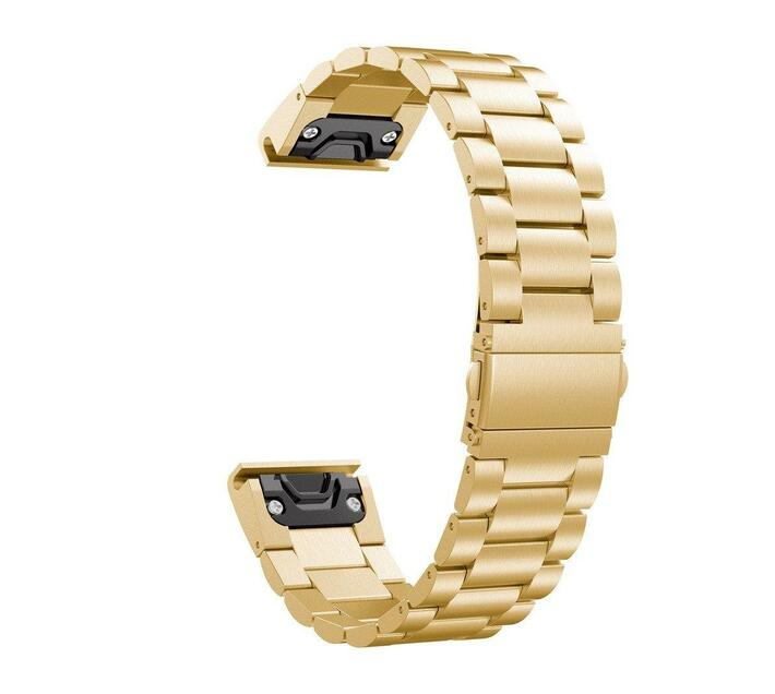 Stainless Steel Link Band for Samsung Gear Fit2 Pro/ Fit2 - Gold