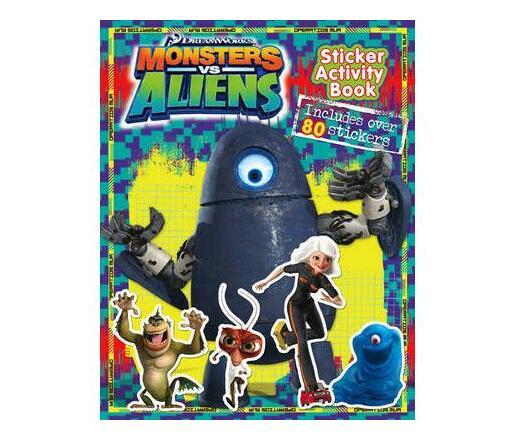 """Monsters vs Aliens"" - Sticker Activity Book"