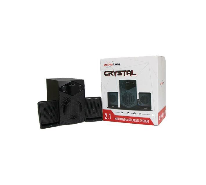 Ultra Link Crystal 2.1 Multimedia Bluetooth Speaker System