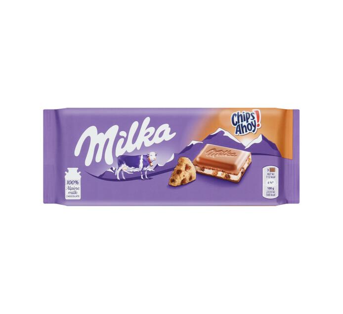 Milka Chocolate Slab Chps Ahoy (1 x 100g)