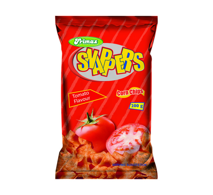 Frimax Snapper Corn Chips Balers Tomato (1 x 50's)