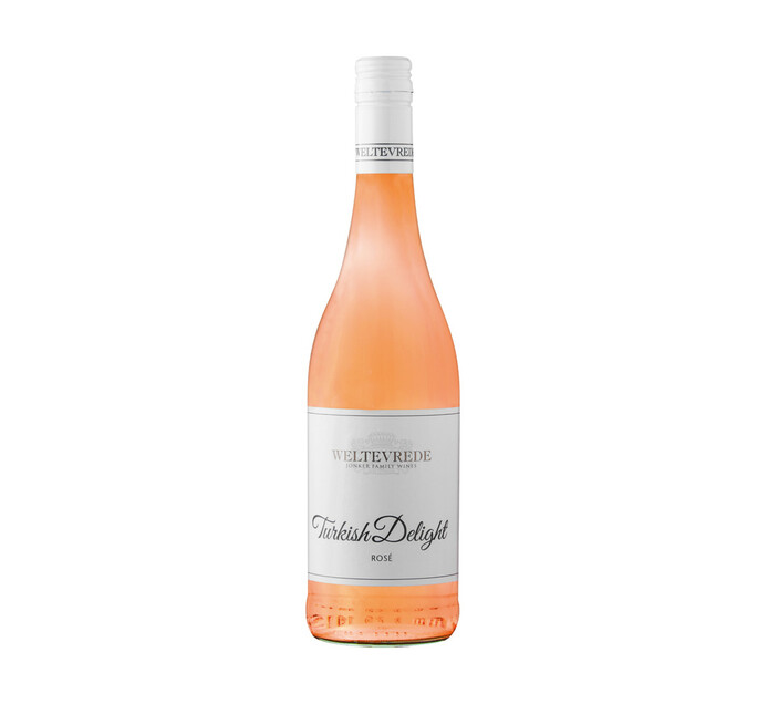 Weltevrede Turkish Delite Rose (1 x 750ml)