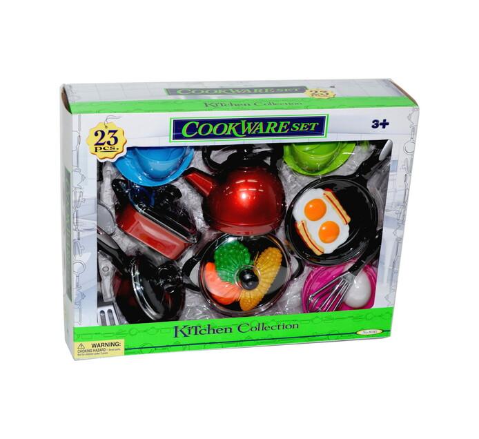 23-Piece Cookware Playset