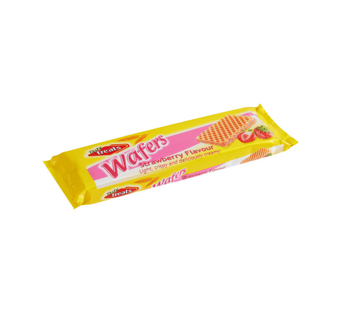 Tasty Treats Wafers Strawberry (1  x  100g)
