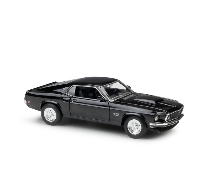 Ford Mustang Boss 429 Black 1969 (scale 1 : 24)