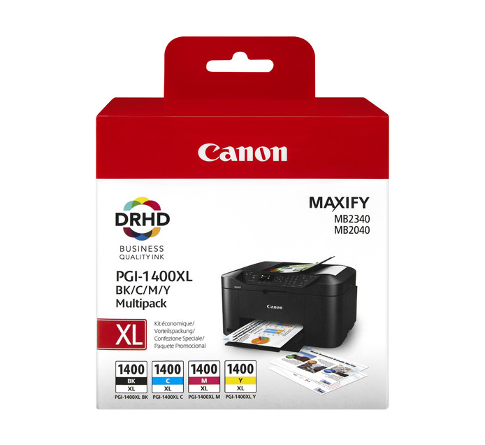 CANON 1400XL 4 Pack Ink Cartridges