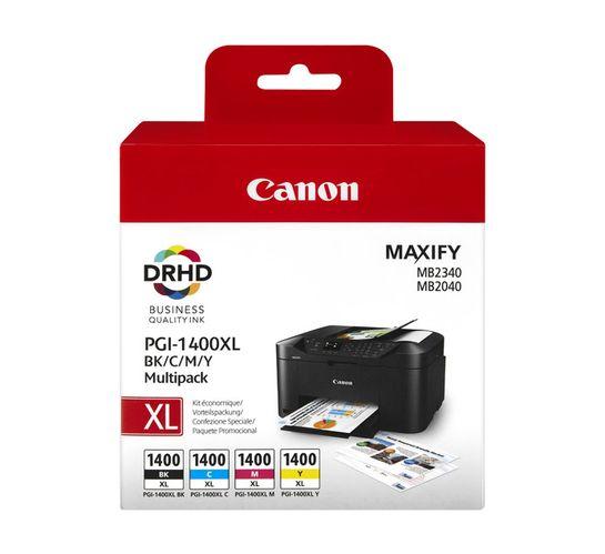 Canon PGI-1400XL Ink Cartridges 4-Pack