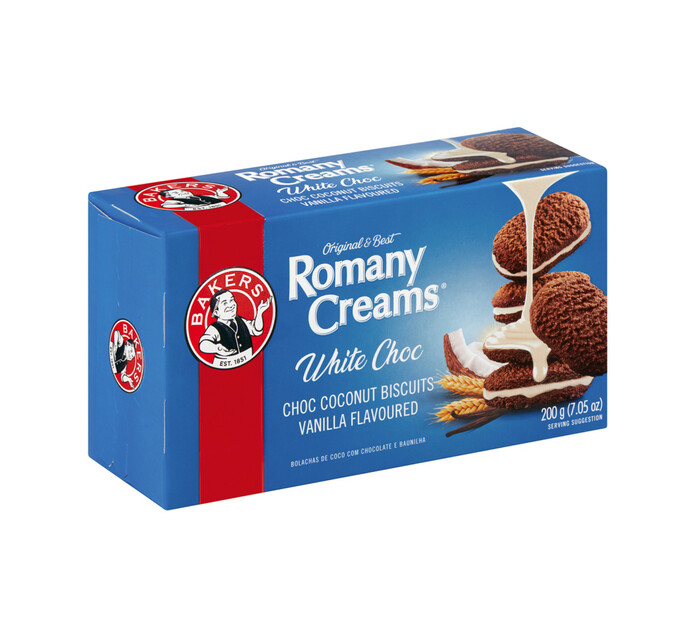 Bakers Romany Creams Biscuit Vanilla (1 x 200g)