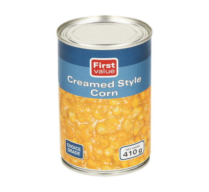 First Value Creamstyle Corn (1  x 410g)