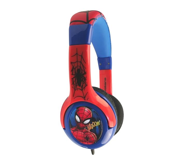 Marvel Spider-man Kids Aux Stereo Volume Reduced Headphones