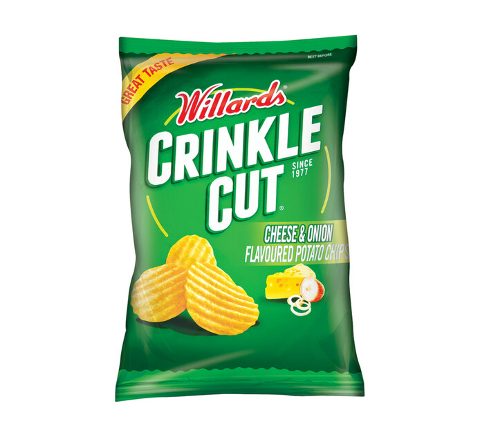 Willards Crinkle Cut Potato Chips (All Variants) (18 x 125g)