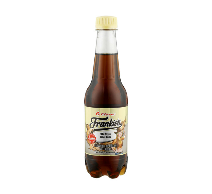 Frankies Carbonated Soft Drink Root Beer (1 x 400ml)