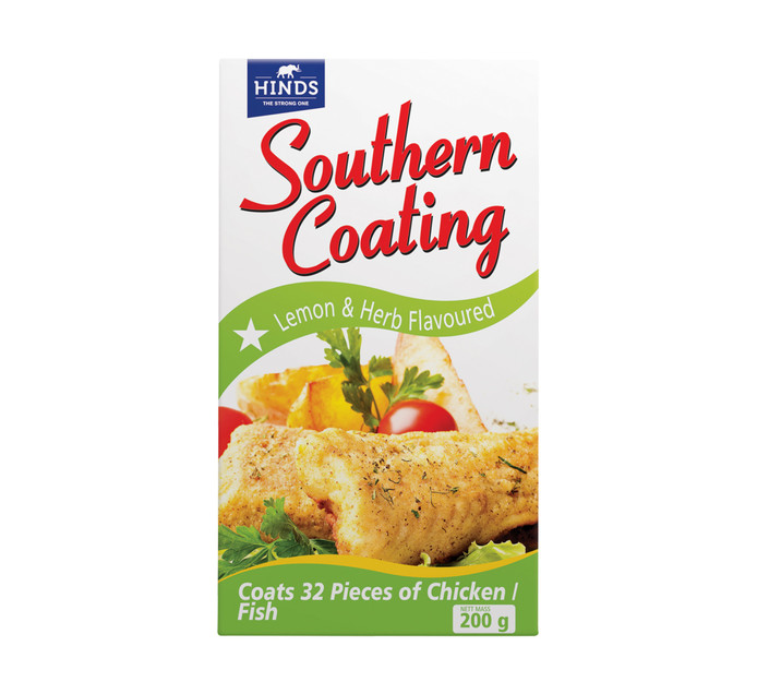 Hinds Southern Coating Lemon & Herb (200g)