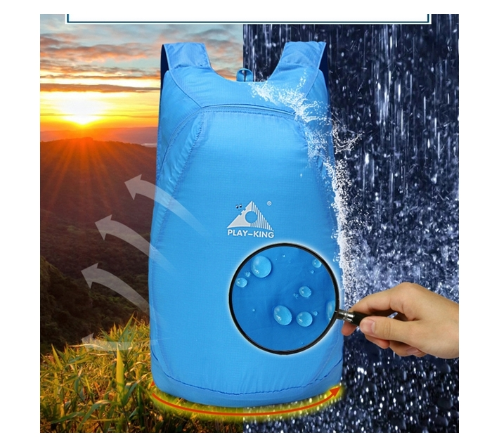Play-King 20L Emegengy Backpack (Blue)