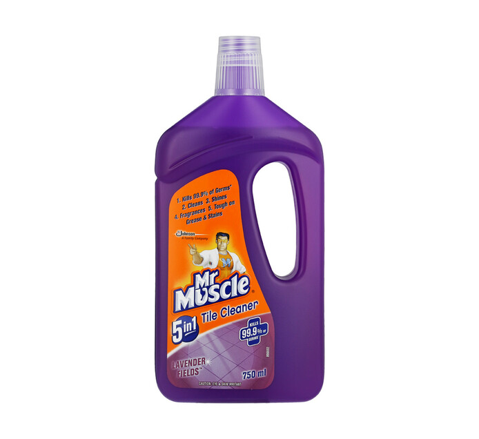 Mr Muscle Tile Cleaner Lavender (6 x 750ml)