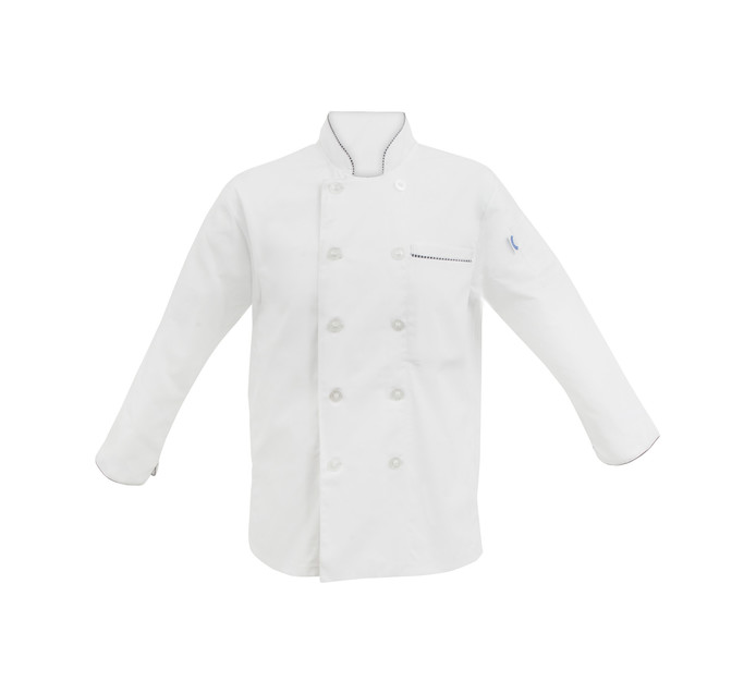 Bakers & Chefs Small Long Sleeve Chef Jacket White