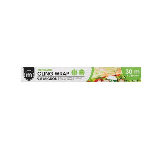 M Cling Film Perforated (350mm x 30m)