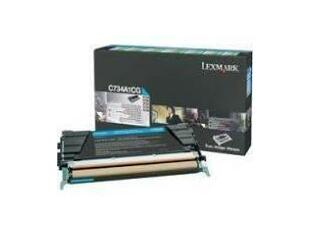 Lexmark Cyan Toner Cartridge   C734A1CG