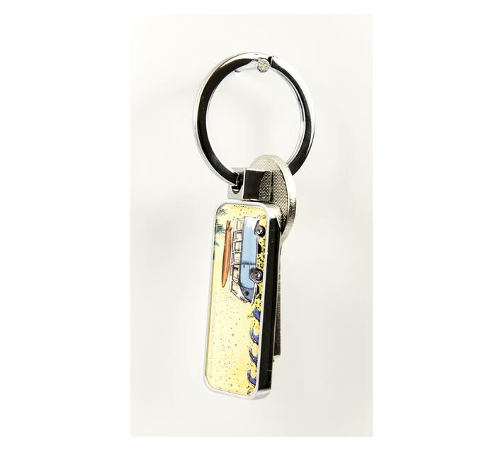 Troika Keyring with Volkswagen Combi Design FREEDOM 2 Sided