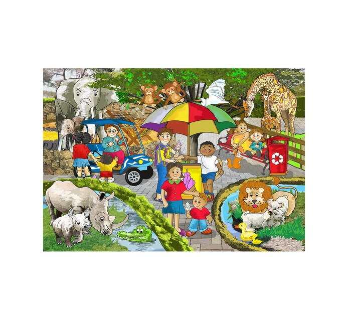 9/12-Piece Wooden Puzzle