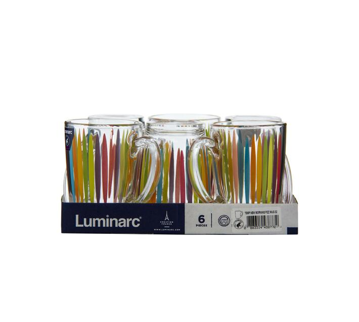 Luminarc New Morning Fizz Mug - 320ml 6 pack
