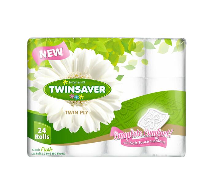 Twinsaver 2Ply Toilet Paper Original (3 x 24's)
