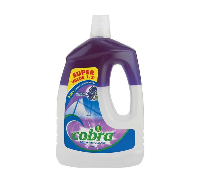COBRA 2 IN 1 TILE CLEANER LAVENDER1.5L