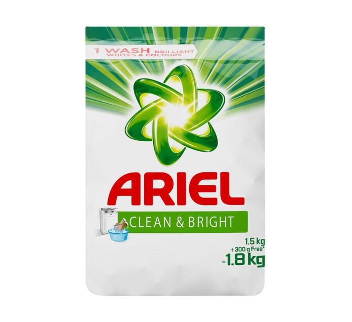 Ariel Hand Wash Powder Original (8 x 1.5kg + 300g)