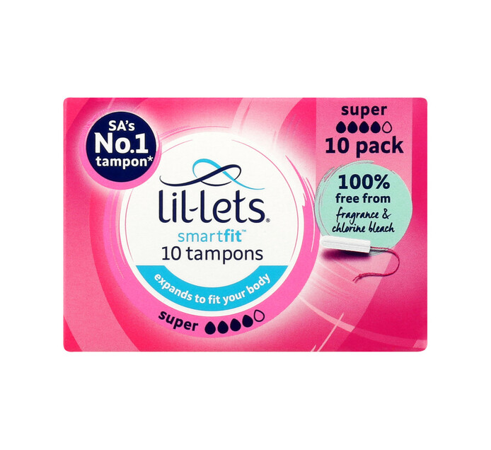 Lil-lets Tampons Super (12 x 10's)