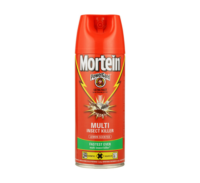 Mortein Insect Spray Ultra Lemon (6 x 300ml)