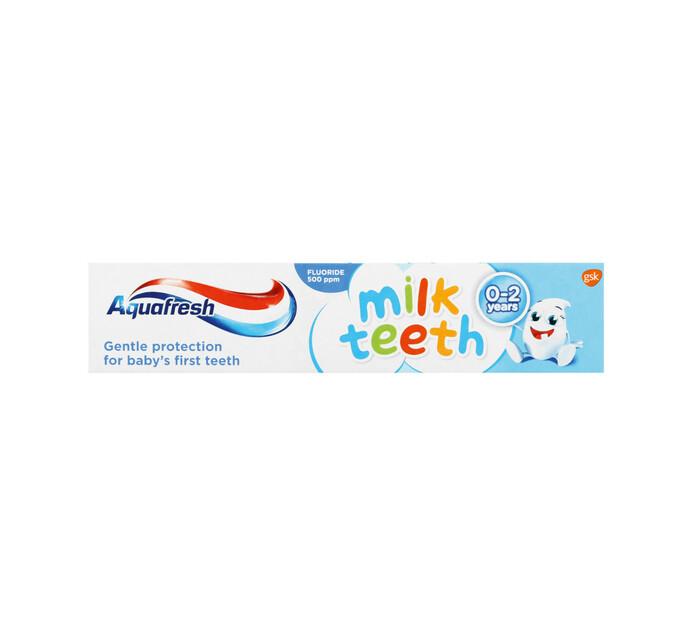 Aquafresh Kids Toothpaste Milk Teeth (1 x 50ML)