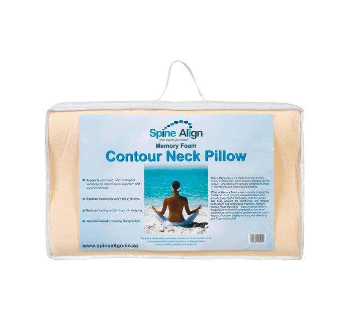 Spine Align Contour Memory Foam Pillow