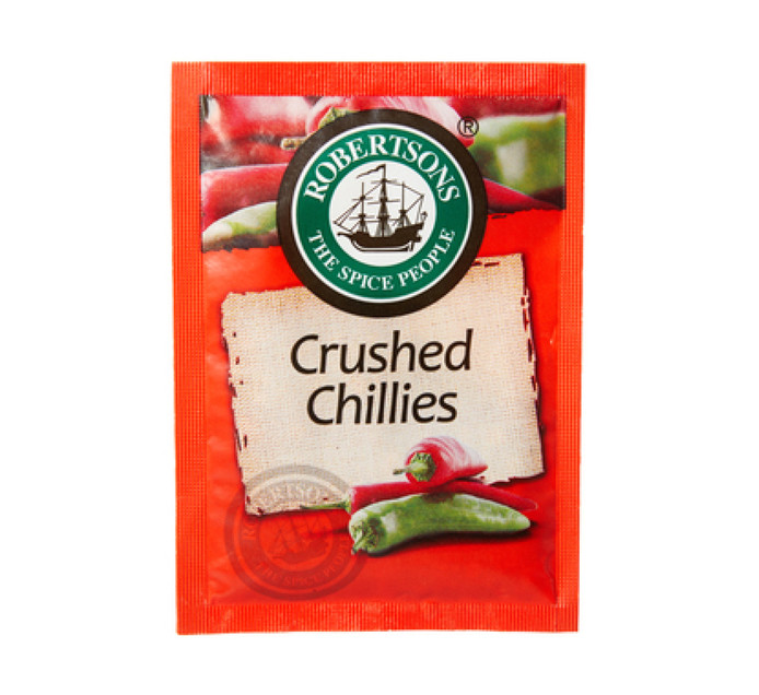 ROBERTSONS CRUSHED CHILLIES ENV 7G